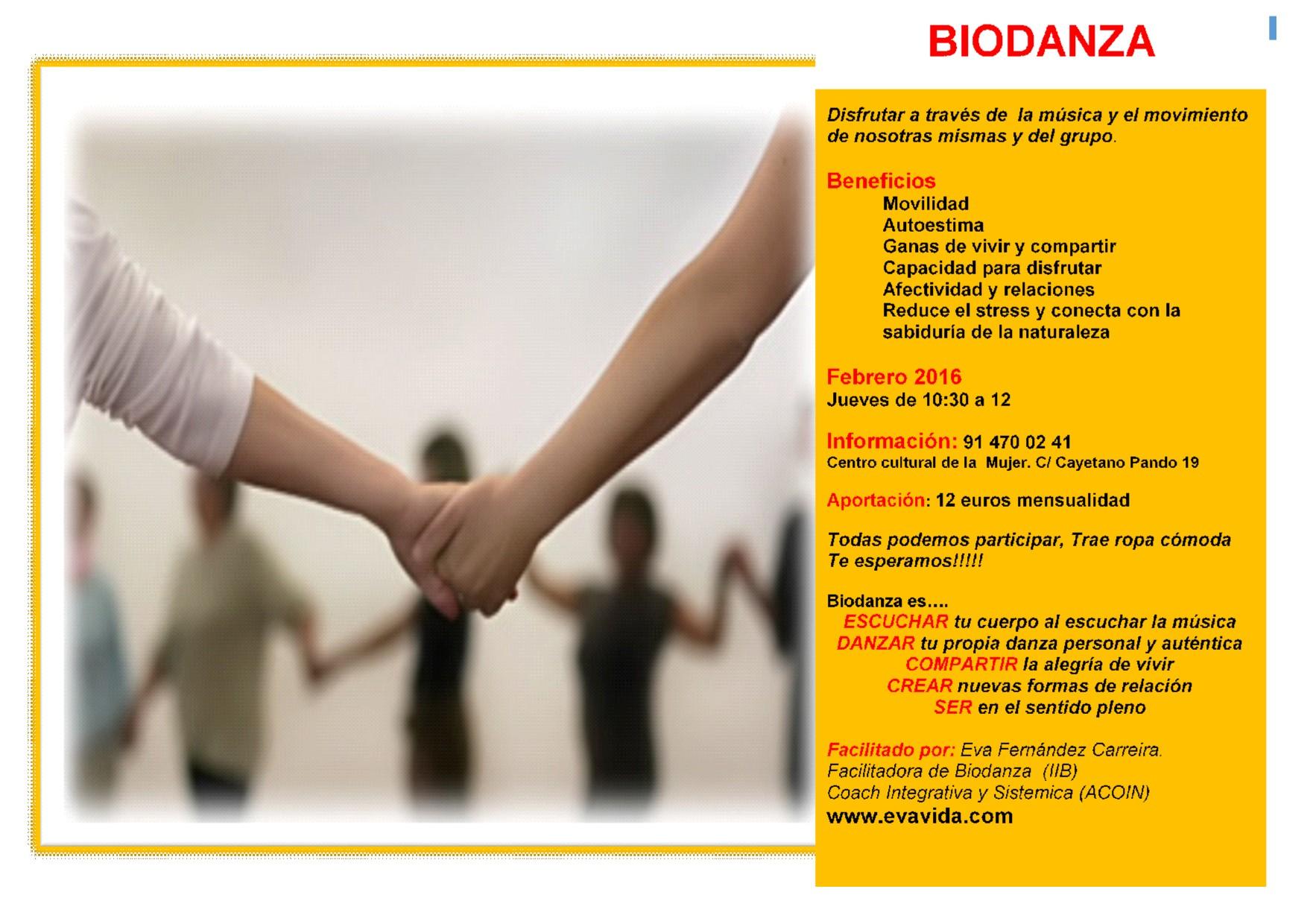 biodanza en Madrid