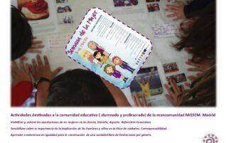 Comunidad Educativa. 8M Igualdad!!